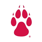 Decal Red W/ PAW 3.5 X 5.25