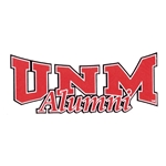 Decal UNM Alumni 6.5x2.5