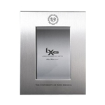 University picture frame silver