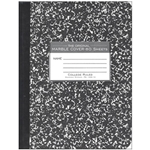 "Roaring Spring Marble Cover Notebook 9.75 x 7.5"" 80 Pages"