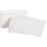 "Oxford Index Cards 5 x 8"" 100 Pack"