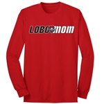 Women's C Port Long Sleeve T-Shirt Lobo Mom Red