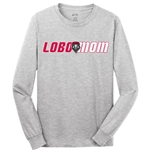 Women's C Port Long Sleeve T-Shirt Lobo Mom Gray