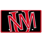 Stockdale Auto Plate Interlocking UNM Black