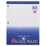 "Roaring Spring Filler Paper College Ruled 200 Sheets 11"" x 8.5"""