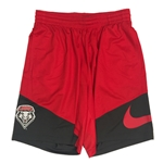 Men's Nike Shorts UNM Shield Colorblock Red & Grey