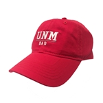 Men's Ouray Cap UNM Dad & Paw Red