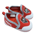 Infant Campus Footnotes Shoes Lobos & UNM Shield Red