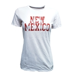 Women's Russell T-Shirt New Mexico in Plaid