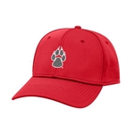 The Game Cap UNM Paw Red