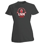 Women's Russell T-Shirt UNM Lobos & Paw Heather