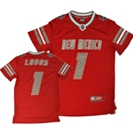 Youth Colosseum Jersey UNM Shield #1 Red