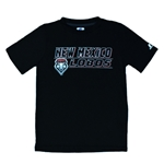 Youth Russell T-Shirt New Mexico Lobos Black