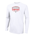 Men's Russell Long Sleeve T-Shirt New Mexico Lobos White