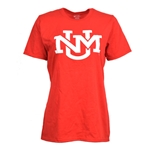 Women's Port & Company T-Shirt UNM New Logo Red