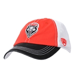 Youth Top Of The World Cap UNM Shield Red Black White