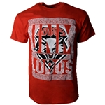 Men's Ouray T-Shirt UNM Lobos & UNM Shield Red