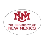 SDS Decal UNM Interlocking Logo The University Of New Mexico 6""