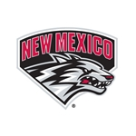 Decal NM Side Lobo Logo 4.25x3.5