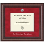 Silver Premier Diploma Frame Silver Accents For Ba/Ma