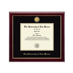 Gold Gallery Diploma Frame w/ Gold Accents Doctorate