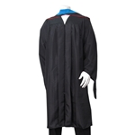 UNM Masters Gown Black