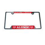 Metal License Plate Frame UNM Alumni