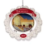 2014 Official UNM Holiday Ornament The Student Union Building