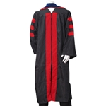 UNM Doctorate Gown BLACK/RED Plus 2