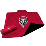 All Weather Lobos Blanket Red
