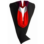 UNM Occupational Therapy Masters Hood Maroon