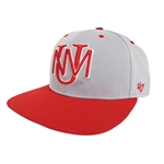 Men's Rendan 47 Pro UNM Logo Grey/Red