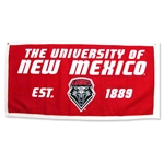 Banner 1889 Lobos Shield Red/White