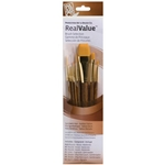 Princeton Art & Brush Co. Real Value Brush Selection 7 Pack