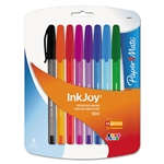 Paper Mate Inkjoy Pens Set Assorted Colors 8 Pack