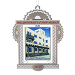 2015 Official UNM Holiday Ornament Mesa Vista Hall