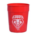 Fluted Stadium Cup Lobos Shield 24oz