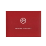 UNM Seal Diploma Cover