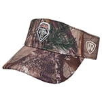 Men's Top of the World Visor Lobos Shield Camo Green