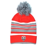 Logofit Pom Pom Beanie Lobos Shield Red/Gray