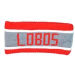Women's Logofit Ear Warmer Lobos Red/Gray