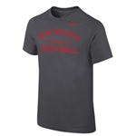 Youth Nike T-Shirt New Mexico Football Dark Gray