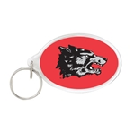 WinCraft Key Ring Old School Wolf