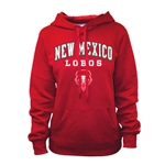 Women's Russell Sweatshirt NM Lobos Shield Red