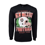Men's Ouray Lone Sleeve T-Shirt NM Football Black