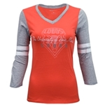 Women's CampDavid Long Sleeve T-Shirt UNM Lobos Red