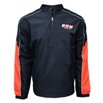 Men's CI Sport Windbreaker UNM Medicine Black/Red