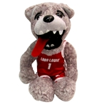 Plush Basketball Player Lobo Louie Mascot