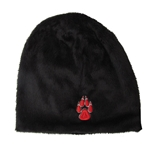 Women's Zephyr Faux Fur Hat Lobo Paw Black