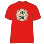 Men's Halo T-Shirt The Pit 50 Red